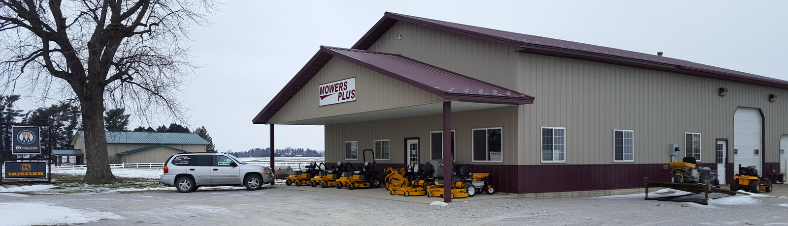 Mowers Plus Specializing In Walker And Hustler Sales And